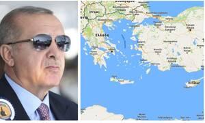 Στο μυαλό του σφαγέα Ερντογάν: Μετά τη Συρία βάζει στο μάτι Αιγαίο και Κύπρο