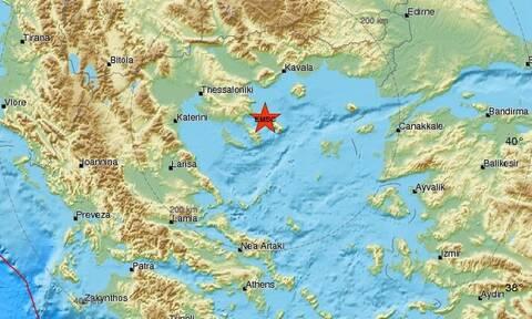 Σεισμός στο Άγιον Όρος (pics)