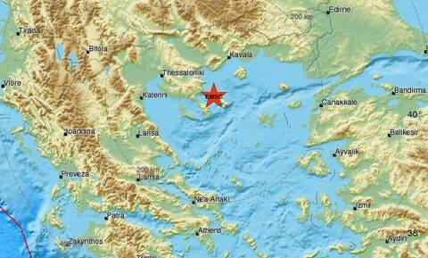 Light quake jolts Mount Athos