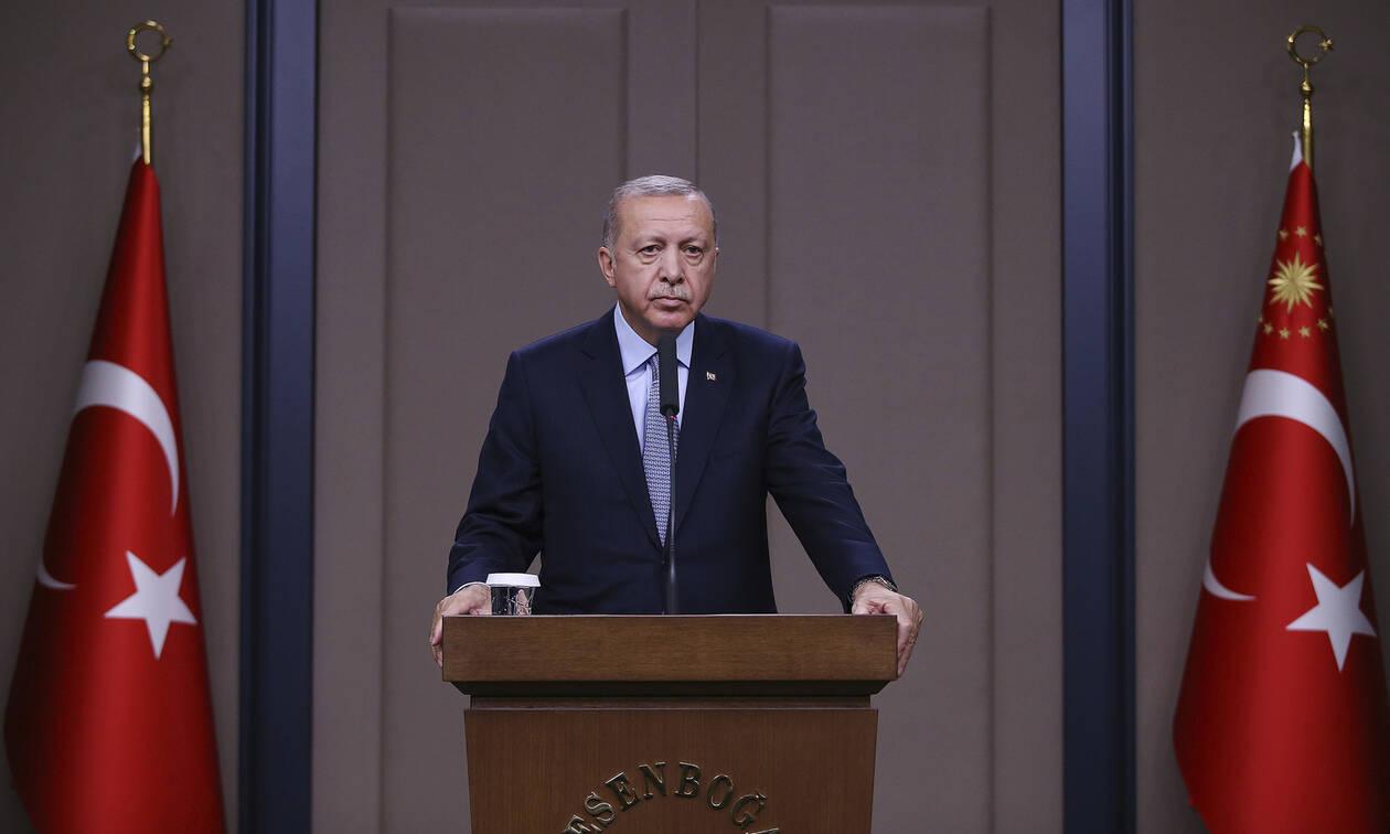 Απειλεί ο αιμοσταγής Ερντογάν: «H επιχείρηση στη Συρία θα συνεχιστεί με μεγαλύτερη αποφασιστικότητα»
