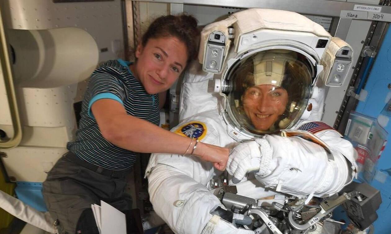 Ο πρώτος διαστημικός περίπατος από γυναίκες είναι γεγονός
