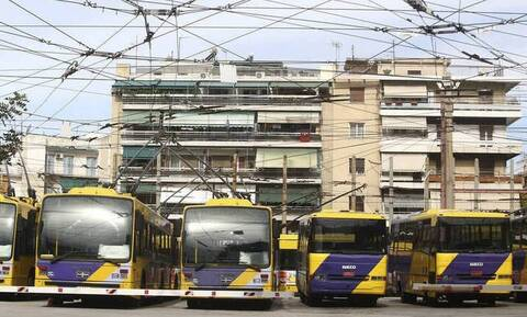 No trolleys in Athens from 12:00 - 16:00 on Wednesday