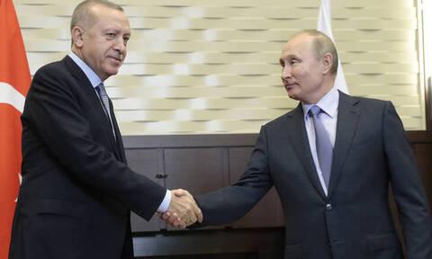 Συνάντηση Πούτιν - Ερντογάν: «Τσάρος» και «σουλτάνος» παζαρεύουν το μέλλον της Συρίας