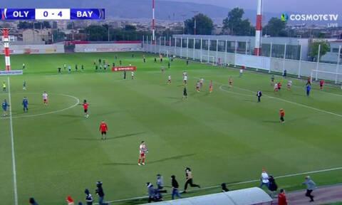 «Ντου» κουκουλοφόρων στο Ολυμπιακός – Μπάγερν για το Youth League! (photos+video)