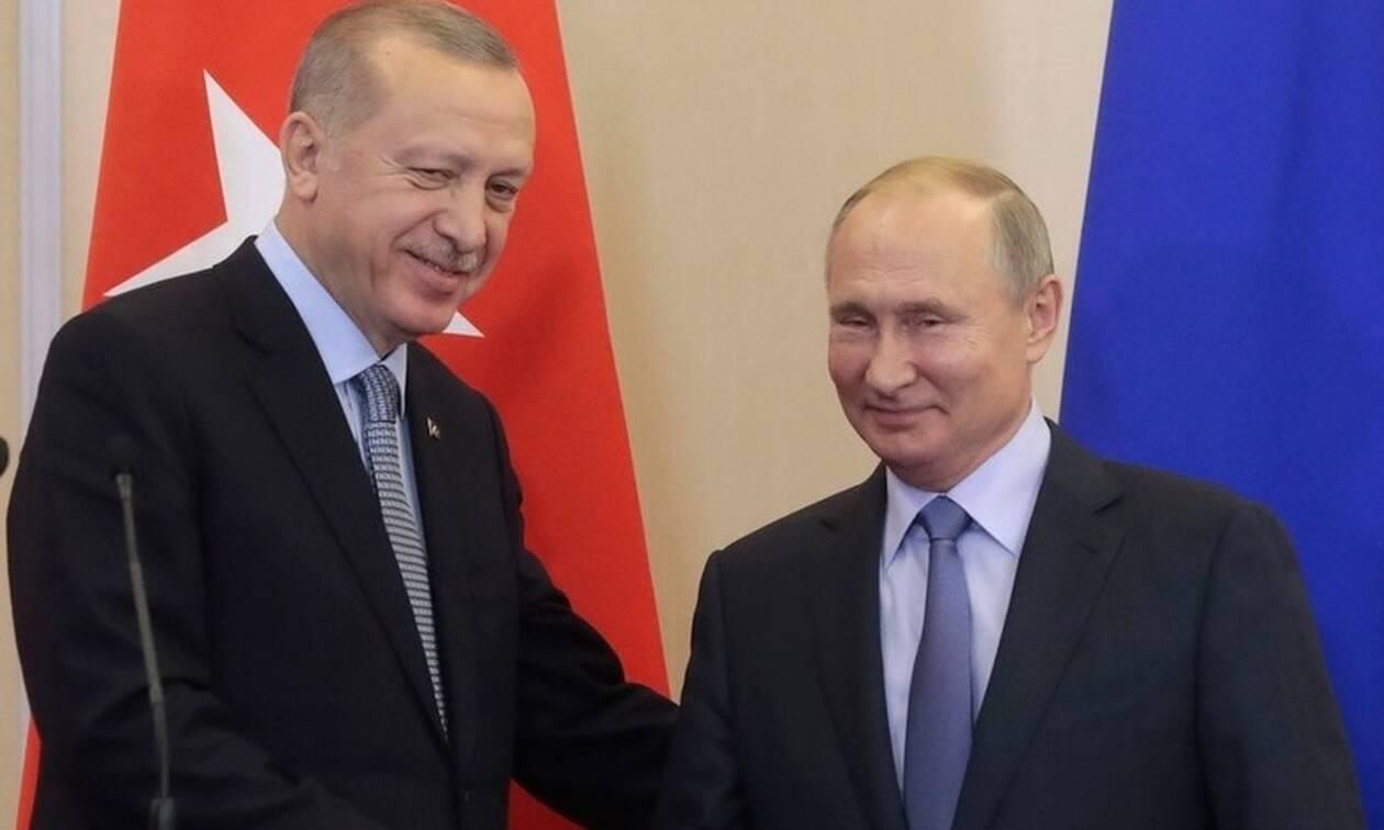 Συμφώνησαν Πούτιν - Ερντογάν: Διορία 150 ωρών για απομάκρυνση των Κούρδων και κοινές περιπολίες