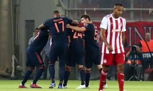 Ολυμπιακός – Μπάγερν Μονάχου 2-3: Πάλεψε σαν… θηρίο, αλλά δεν μπόρεσε! (video+photos)