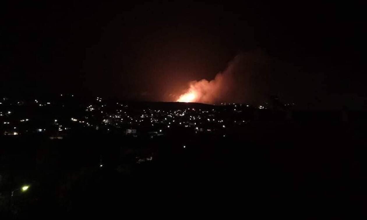 Φωτιά Πόρτο Ράφτη: Εικόνες Αποκάλυψης από τη μεγάλη πυρκαγιά (pics&vids)