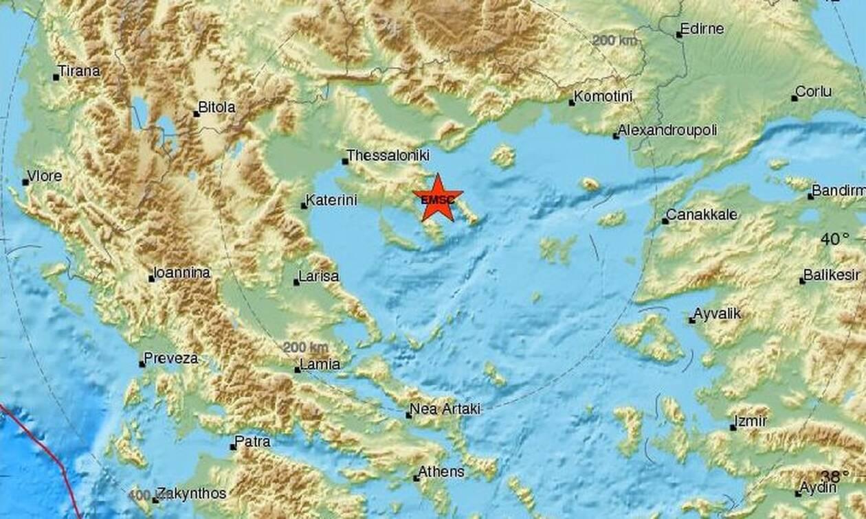 Σεισμός κοντά στην Ουρανούπολη