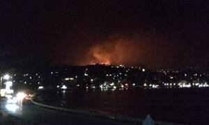 Φωτιά ΤΩΡΑ: Προσαγωγή υπόπτου για τη μεγάλη πυρκαγιά στο Πόρτο Ράφτη