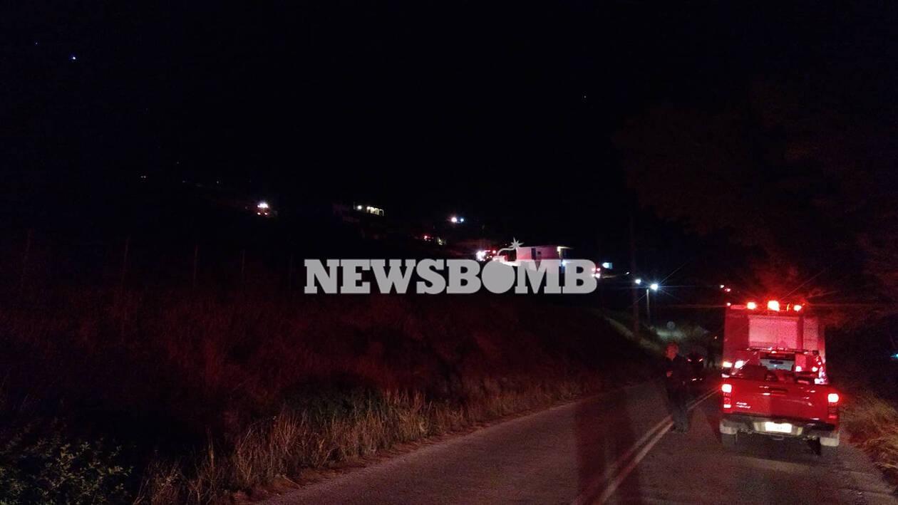 Φωτιά στο Πόρτο Ράφτη Ολονύχτια μάχη με τις φλόγες - Απειλήθηκαν κατοικίες - Απομάκρυναν κατοίκους