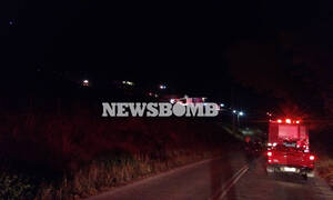 Φωτιά στο Πόρτο Ράφτη: Ολονύχτια μάχη με τις φλόγες - Απειλήθηκαν κατοικίες - Απομάκρυναν κατοίκους