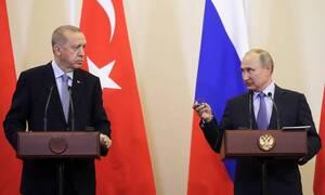 Путин заявил, что переговоры с Эрдоганом позволили выйти на судьбоносные решения по Сирии