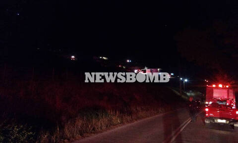 Жителей Порто Рафти эвакуировали из-за пожара