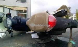 Τροχαίο ΣΟΚ στην Κρήτη: Νεκρός ο οδηγός μηχανής - Ακρωτηριάστηκε ο φίλος του (pics)