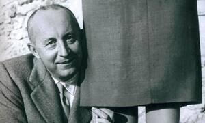 Σαν σήμερα το 1957 έφυγε από τη ζωή ο σχεδιαστής υψηλής ραπτικής Κριστιάν Ντιόρ