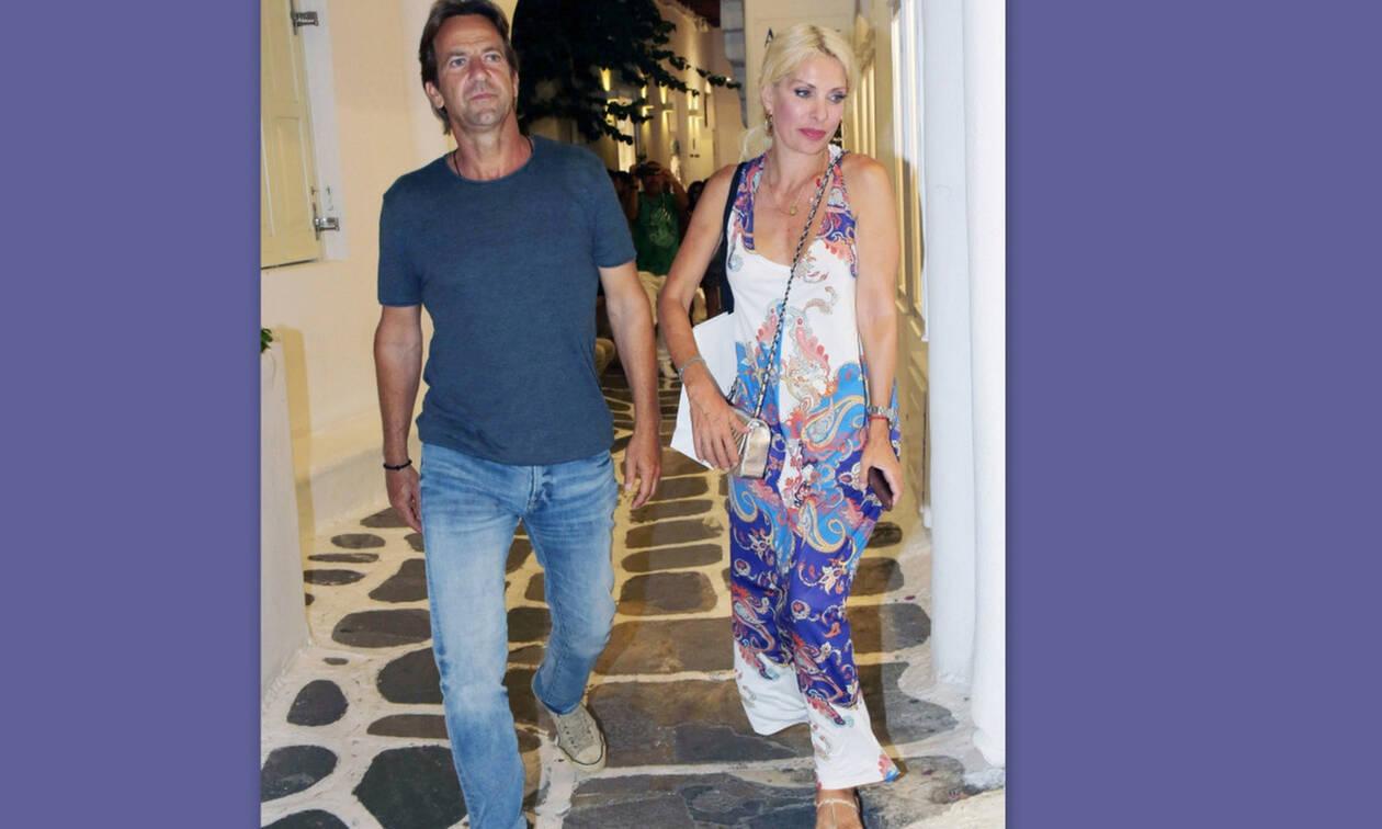 Μενεγάκη-Παντζόπουλος: Ρομαντικές στιγμές στο Μυστρά– Δείτε πρώτοι εικόνες από την απόδρασή τους!