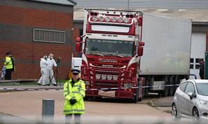 Βρετανία: Κινέζοι οι 39 νεκροί στη νταλίκα του τρόμου (pics+vids)