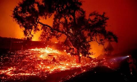 Καλιφόρνια: Εικόνες Αποκάλυψης από την πύρινη λαίλαπα (pics - vid)