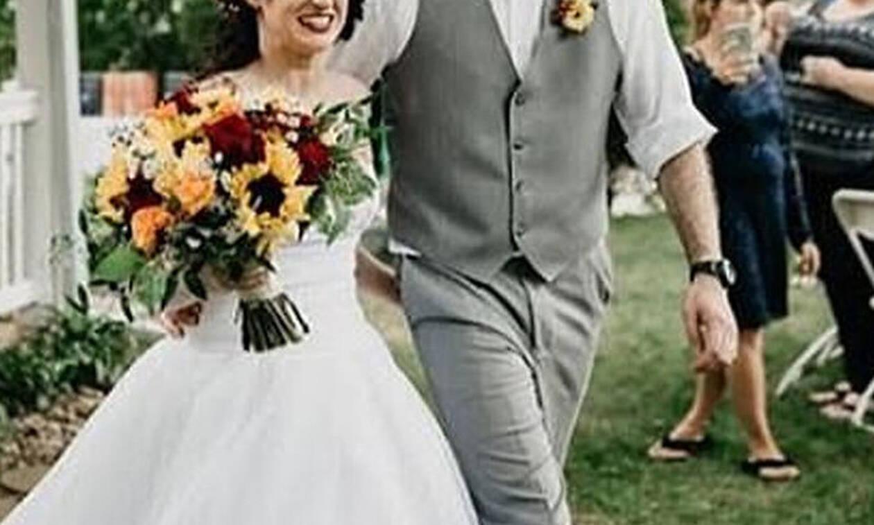 Τρελάθηκε τελείως: Δες τι φόρεσε στο γάμο της αδερφής της! (vid)