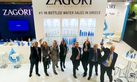 To «Φυσικό Μεταλλικό Νερό ΖΑΓΟΡΙ» στη Διεθνή Έκθεση ANUGA 2019