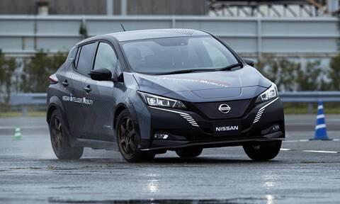 Αυτό το Nissan Leaf τους έχει 309!