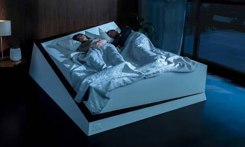 Το κρεβάτι που θα πετάει τον άντρα σου στην πλευρά του!