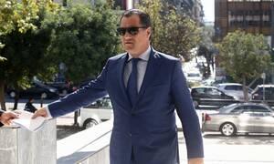 Υπόθεση Novartis: Καταθέτει στον εισαγγελέα ο Άδωνις Γεωργιάδης