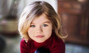Αυτή είναι η εντυπωσιακή 6χρονη που πήρε τον τίτλο της πιο όμορφης στον κόσμο (pics+vid)