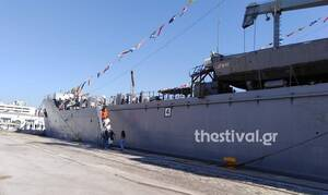 Πλοία του Πολεμικού Ναυτικού στο λιμάνι της Θεσσαλονίκης - Πότε μπορεί να τα επισκεφτεί το κοινό
