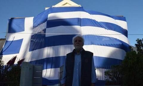 28η Οκτωβρίου: Ο αντιδήμαρχος Άργους «σκέπασε» το σπίτι του με ελληνική σημαία