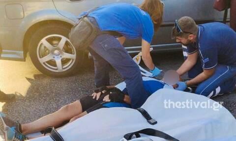 Θεσσαλονίκη: Ποδηλάτης παρασύρθηκε από Ι.Χ. μπροστά στο δημαρχείο