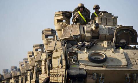 Συρία: Επέστρεψε ο αμερικανικός στρατός