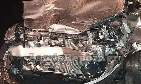 Λαμία: Σοβαρό τροχαίο - Αμάξι τούμπαρε και βρέθηκε στο αντίθετο ρεύμα