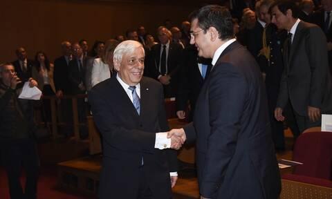 Με το Χρυσό Μετάλλιο της Εταιρείας Μακεδονικών Σπουδών τιμήθηκε ο Πρόεδρος της Δημοκρατίας