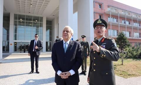 Το 424 ΓΣΝΕ επισκέφθηκε ο Πρόεδρος της Δημοκρατίας