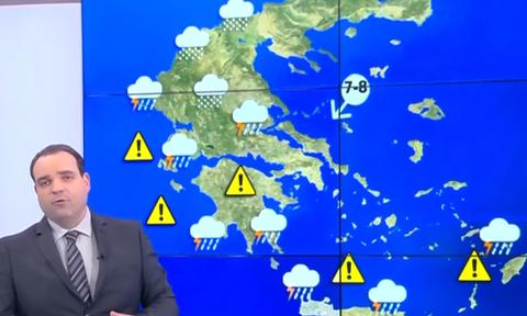 Καιρός: Προσοχή! Χειμώνας από Τετάρτη, έρχονται και τα πρώτα χιόνια (video)