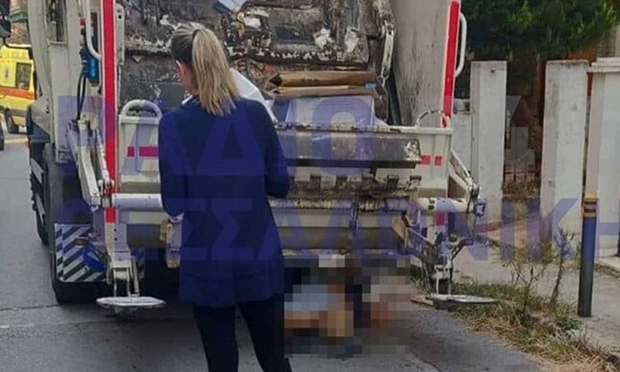 Τραγωδία στη Θεσσαλονίκη: Νεκρή ηλικιωμένη - Παρασύρθηκε από απορριμματοφόρο
