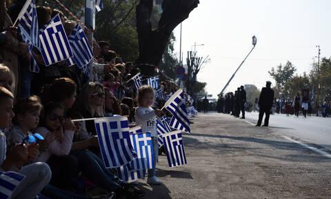 Θεσσαλονίκη: Με λαμπρότητα ολοκληρώθηκε η στρατιωτική παρέλαση για την 28η Οκτωβρίου