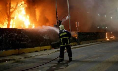 Πυρκαγιά στο hot spot του Ελαιώνα