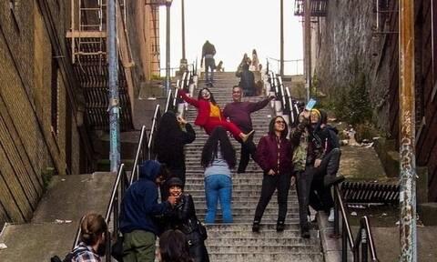 Αξιοθέατο οι σκάλες στο Μπρονξ χάρη στον Τζόκερ
