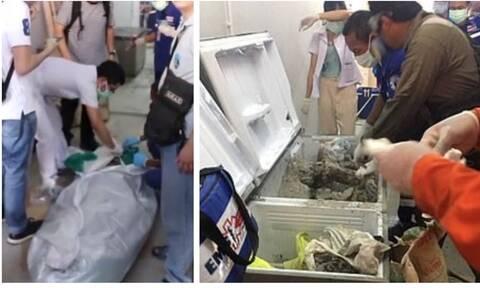 Ανατριχίλα: Αυτή είναι η γυναίκα που βρέθηκε τσιμεντωμένη μέσα στον καταψύκτη (pics)