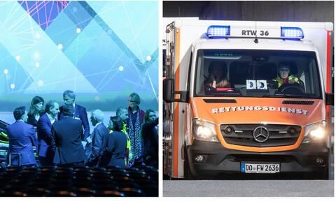 Σοκ στη Γερμανία: Απίστευτη τούμπα του υπουργού Οικονομικών – Εσπευσμένα στο νοσοκομείο (pics+vids)