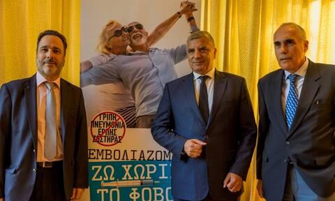 Πατούλης: Να κάνουμε τον εμβολιασμό εθνική υπόθεση – Εκστρατεία ενημέρωσης για τα εμβόλια ενηλίκων