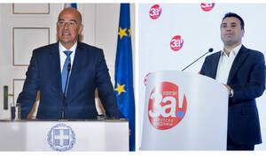 Δένδιας για Ζάεφ: Εκμεταλλεύεται τα προβλήματα της συμφωνίας των Πρεσπών