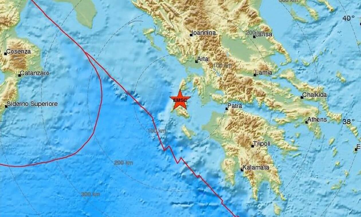 Σεισμός ΤΩΡΑ στην Κεφαλονιά (pics)