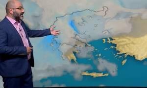 Καιρός: Προσοχή! Παρέλαση βαρομετρικών χαμηλών... Η προειδοποίηση του Αρναούτογλου (video)