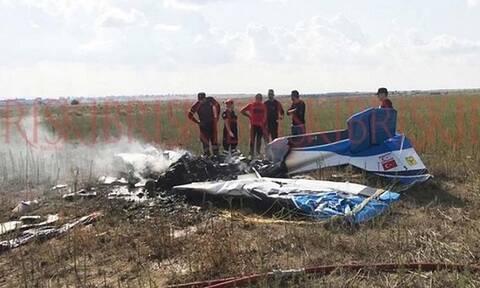 На Кипре в результате крушения самолета погибли 2 человека