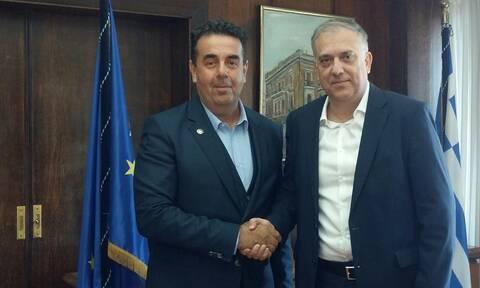Συναντήσεις του υπουργού Εσωτερικών με τους Δημάρχους Ναυπλίου και Τρίπολης