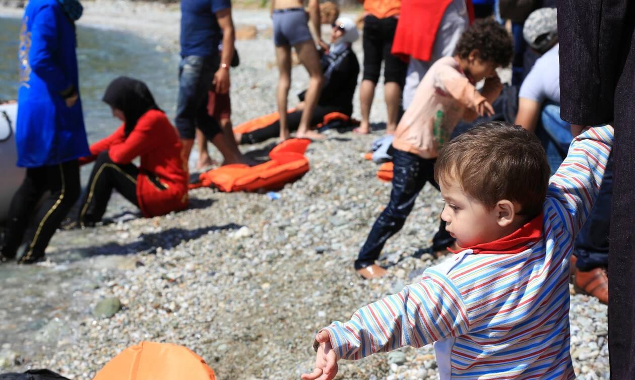 Μεταναστευτικό: Πάνω από 790 μετανάστες και πρόσφυγες τις τελευταίες 48 ώρες στα νησιά Β. Αιγαίου