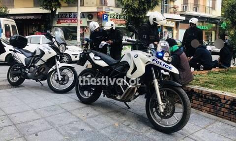 Θεσσαλονίκη: Μεγάλη αστυνομική επιχείρηση για την πάταξη της εγκληματικότητας (pics&vid)